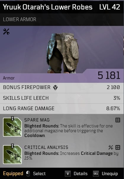 outriders tips for beginners item rolls