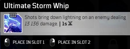 best outriders weapon mods ultimate storm whip