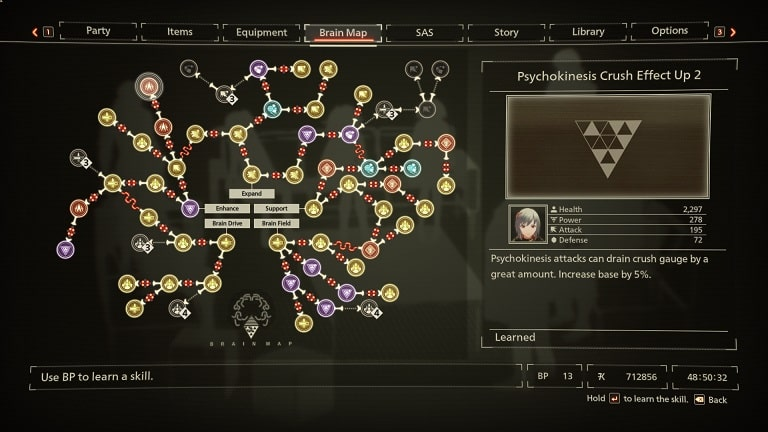 crusheffect Top 10 BEST Scarlet Nexus Brain Map Skills