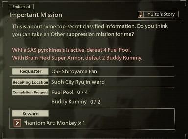 scarlet nexus best weapons important mission 2