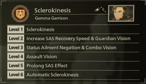 scarlet nexus best sas skills sclerokinesis