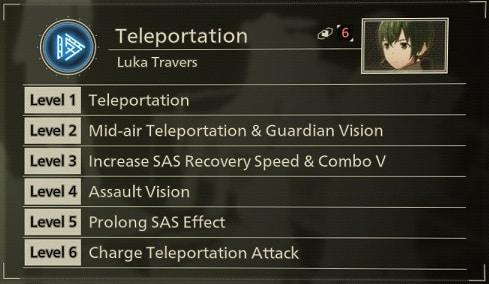 scarlet nexus best sas skills teleportation