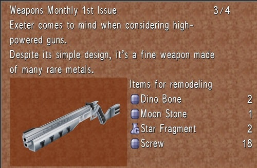final fantasy 8 best weapons exeter