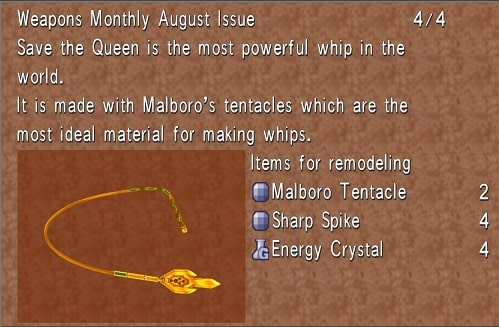 savethequeen Getting Final Fantasy 8 Best Weapons EARLY