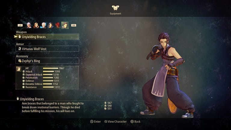 tales of arise best weapons law