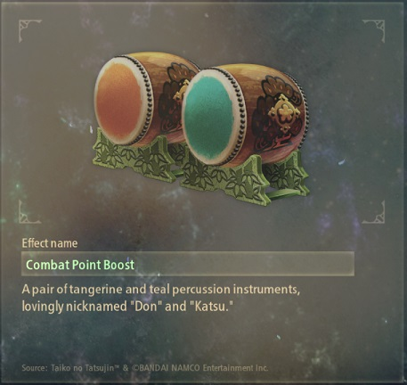 tales of arise artifacts 10 drums of the master