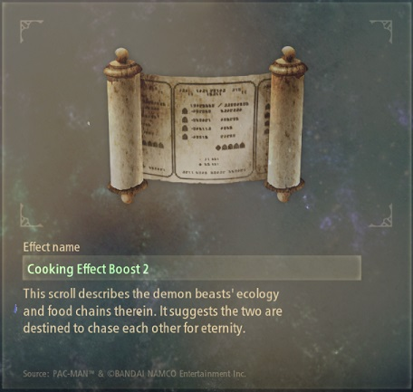 tales of arise artifacts 13 glutton's code