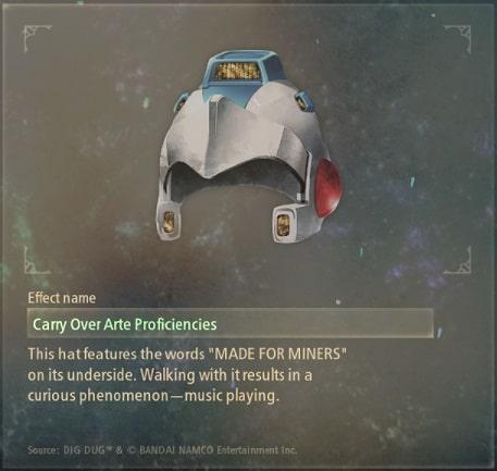 tales of arise artifacts 17 metal miner's cap