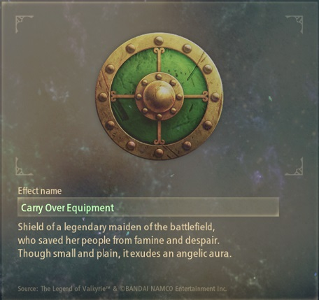 tales of arise artifacts 20 battle maiden's shield