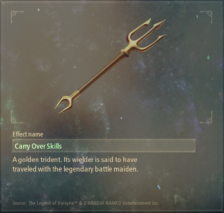 tales of arise artifacts 21 trident
