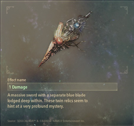 tales of arise artifacts 3 blade of sealing
