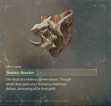 tales of arise artifacts 4 hellmask fiend skull