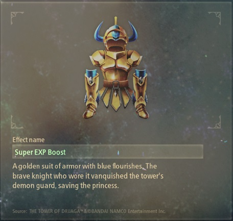 tales of arise artifacts 7 golden suit of armor